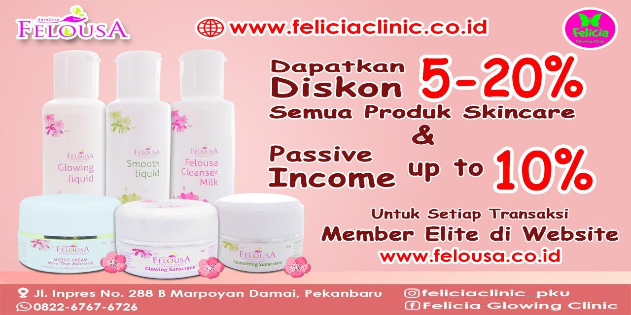 Sistem Referral Website Felousa Skincare